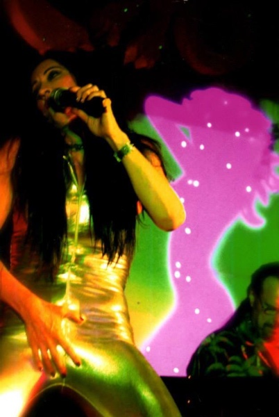 Lucy LaMode Performing with Killer Pussy Band Live