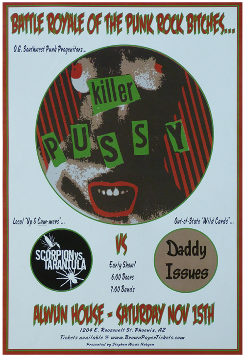 Killer Pussy Band Royale Revenge Poster for Sale