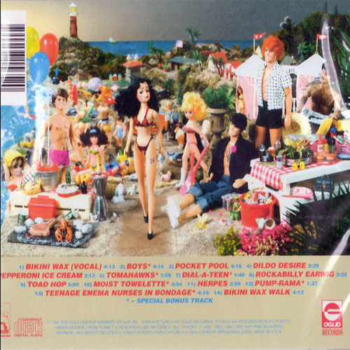 Killer Pussy Bikini Wax CD Backside