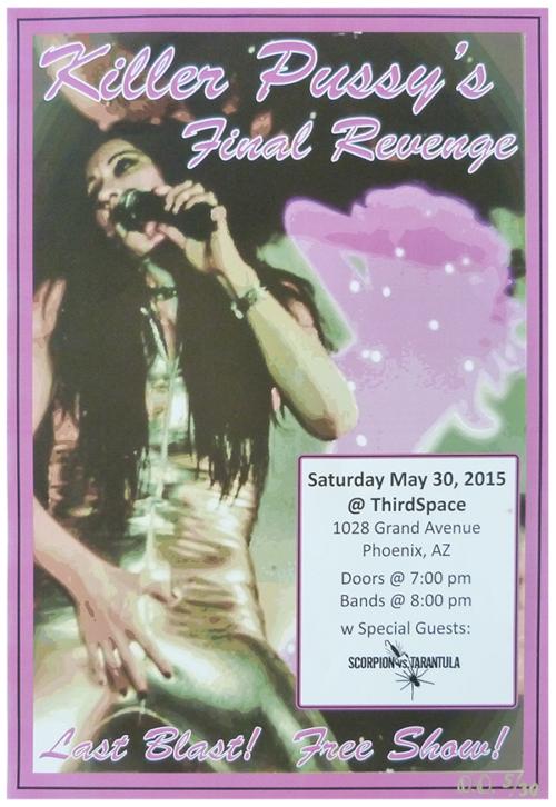Killer Pussy Band Final Revenge Poster for Sale